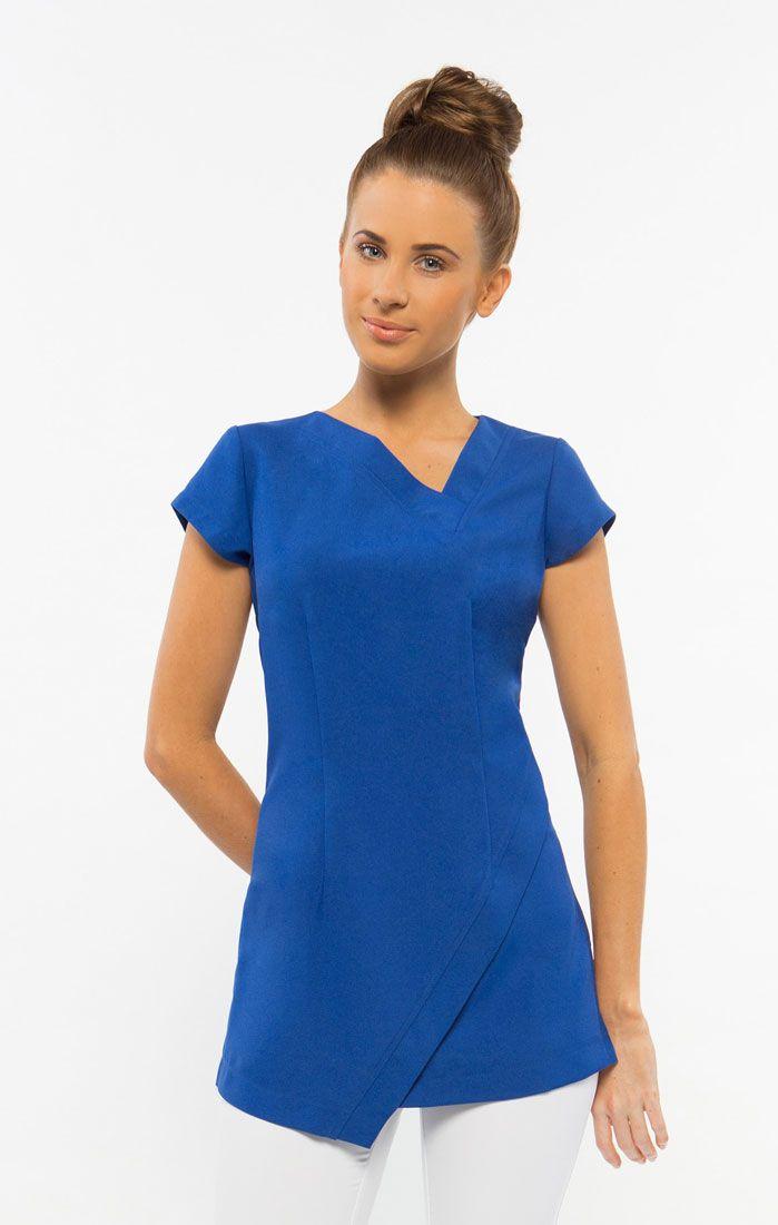 Beauty Therapist Spa Uniforms Beauty Salon Uniforms Australia Work Uniforms Tunic Spa Uniform