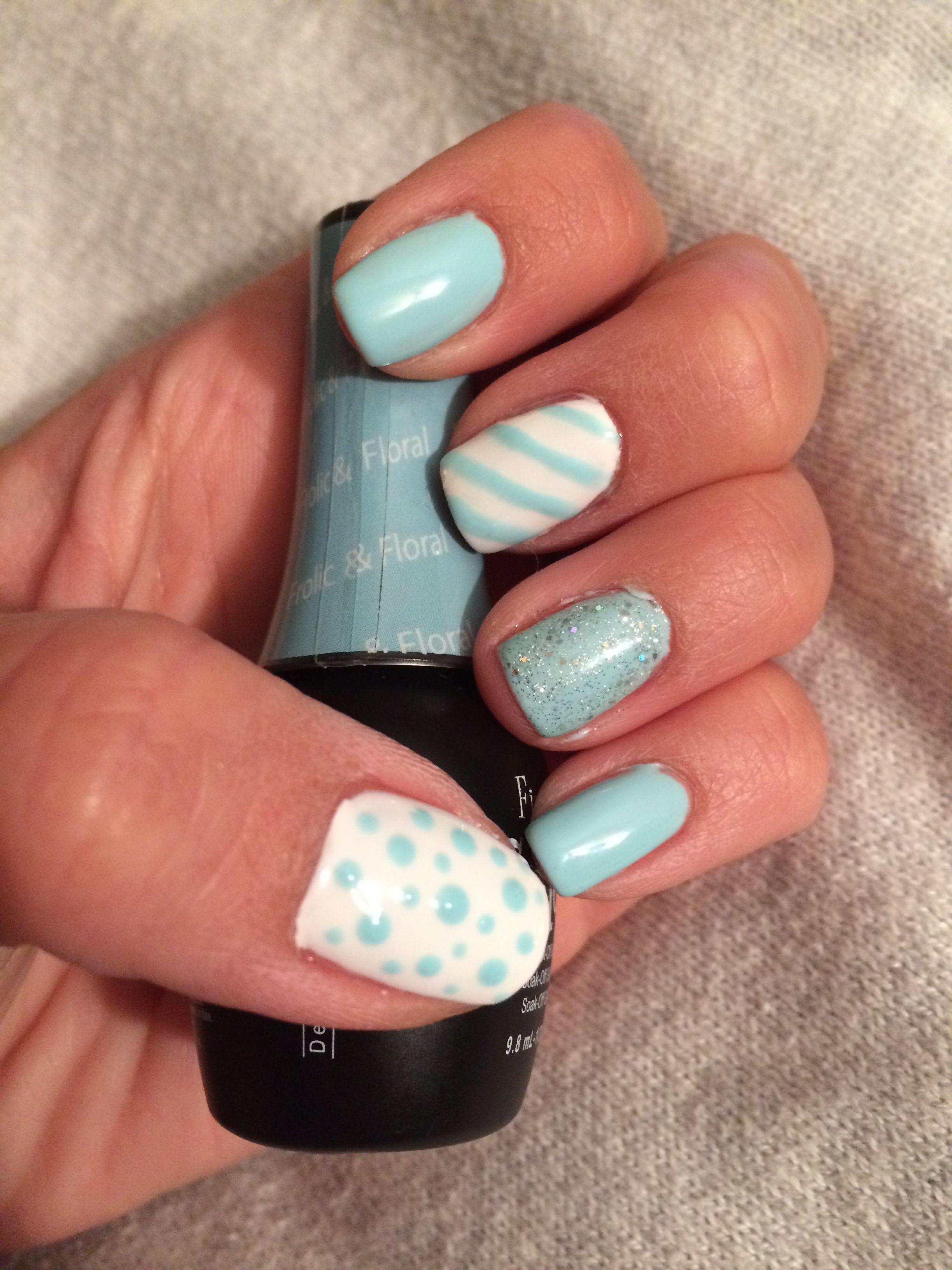 Nail art. Summer nails. No chip manicure frolic and floral. | Nails ...