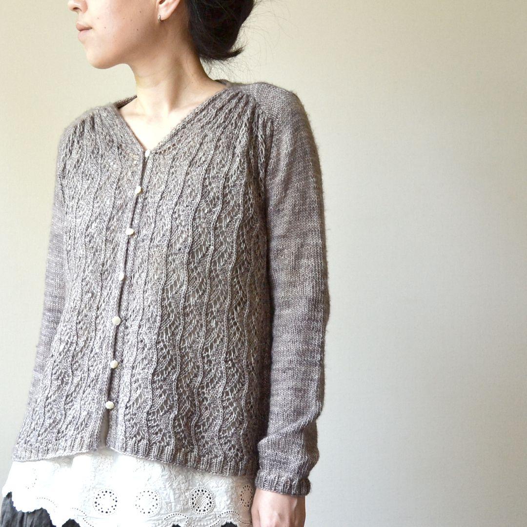 Ivy Line pattern by Yoko Johnston   Ravelry, Knit crochet and Crochet