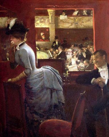 """""""La Baignoire"""", Jean Béraud, 1883"""