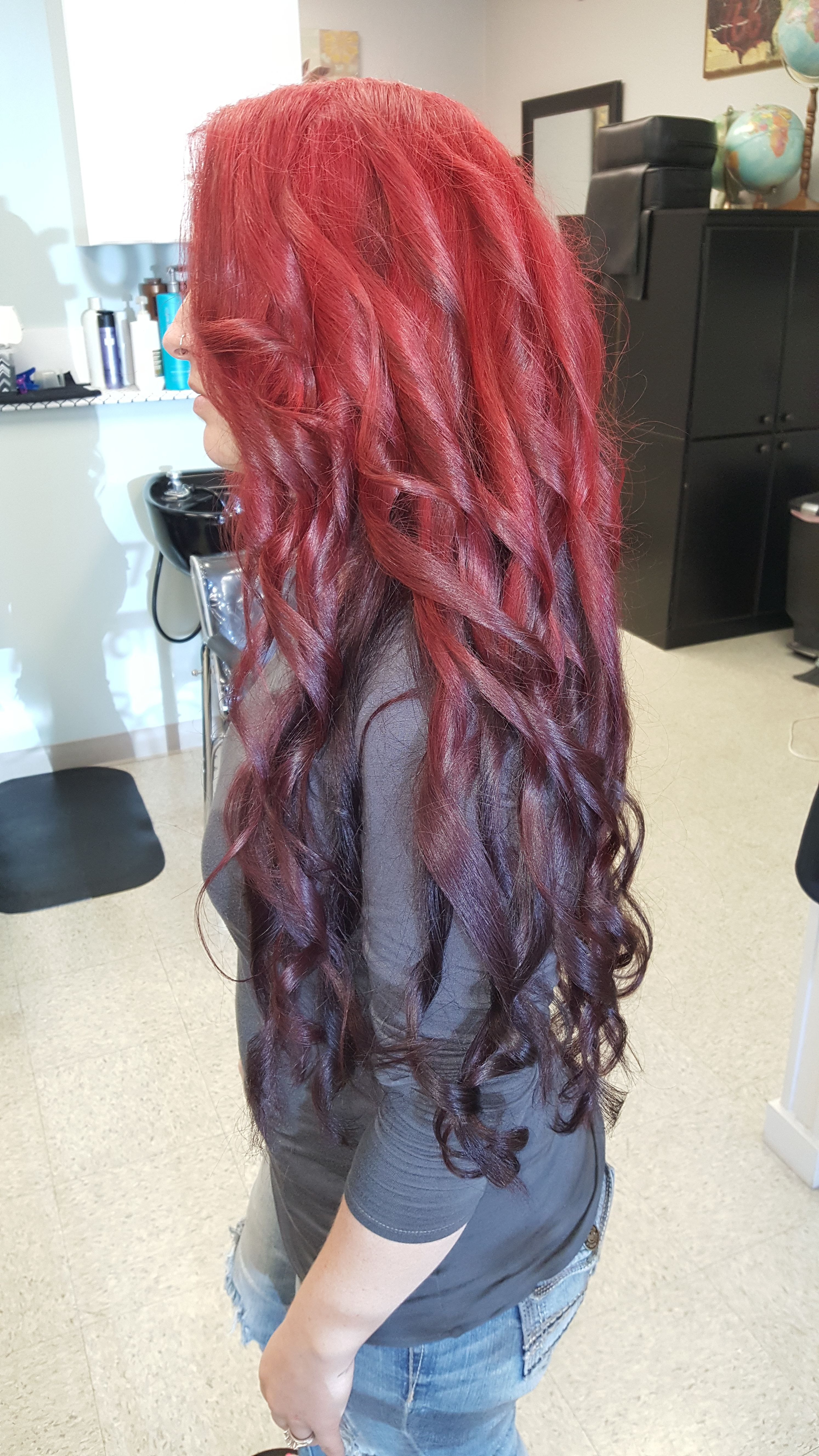 42++ Red to black reverse ombre inspirations