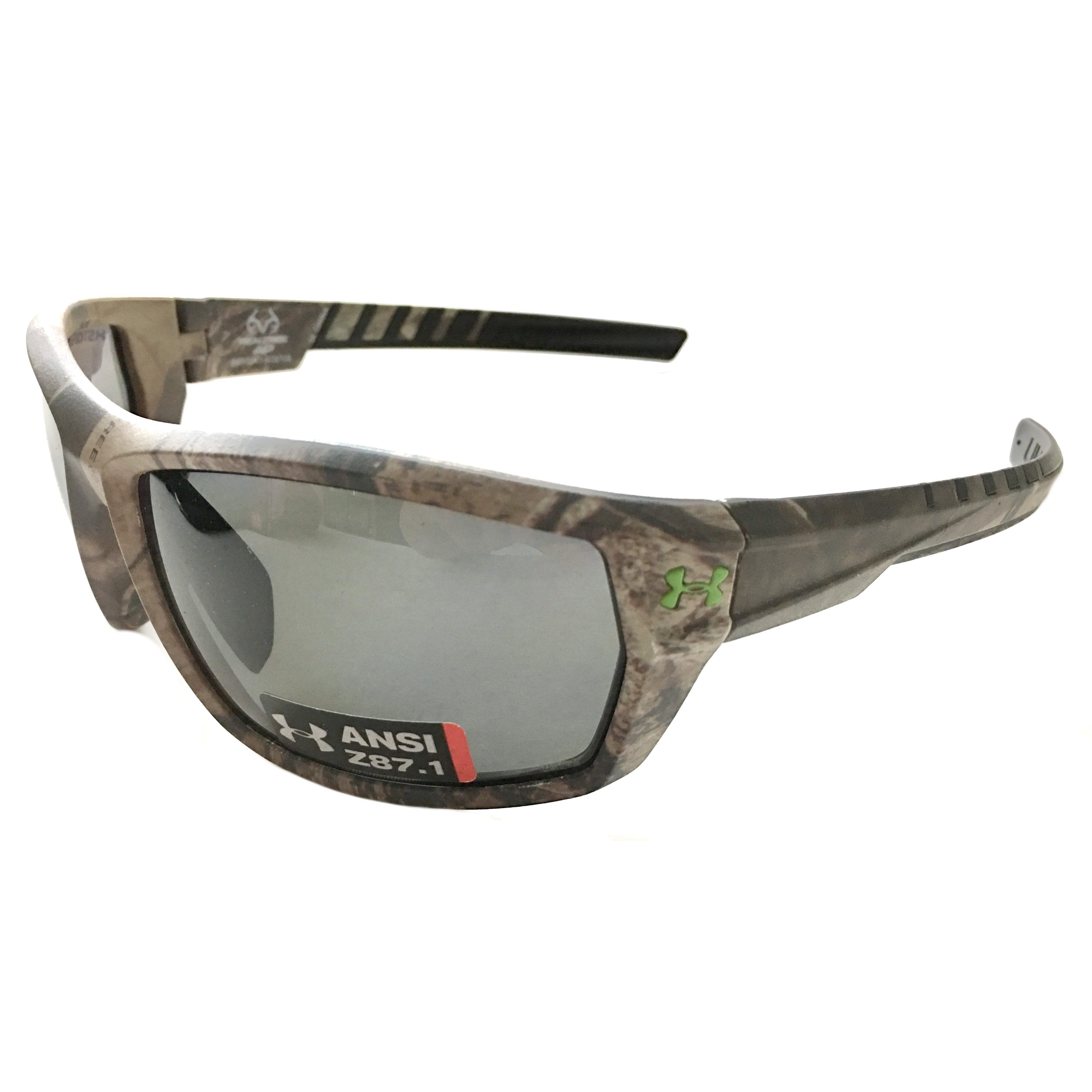 c729f1e5d3b0a Under Armour Ranger Sunglasses – UA Satin Realtree Camo – Polarized Gray  Storm Lens