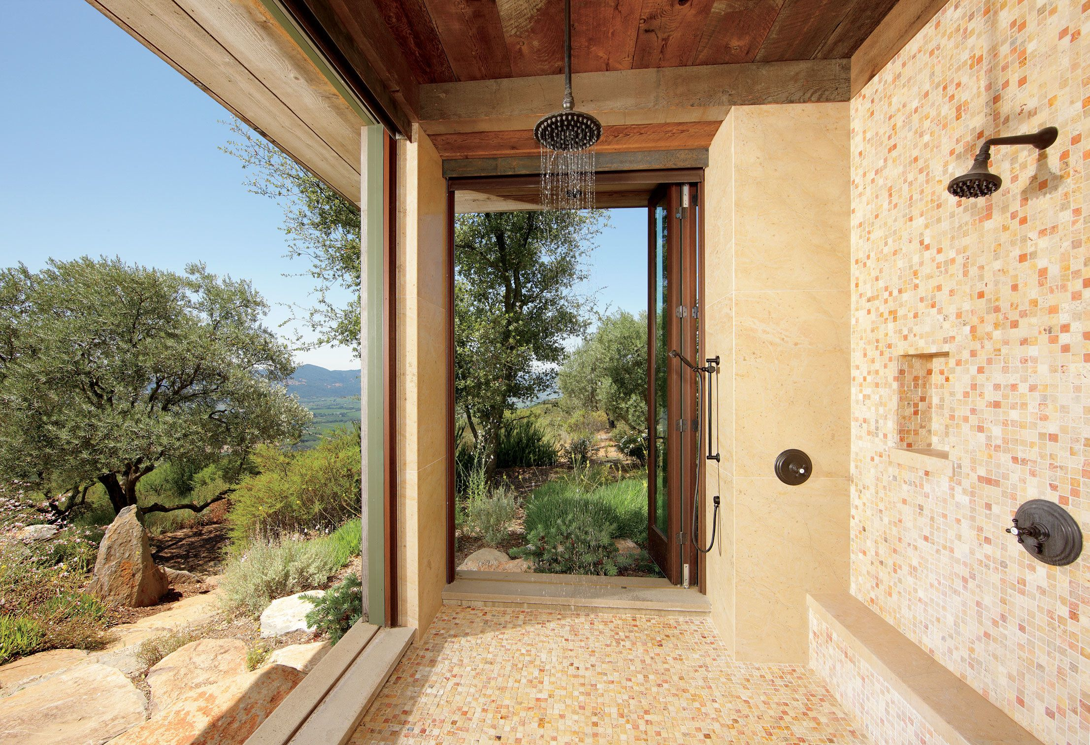 inspiring outdoor shower ideas for every style architectural