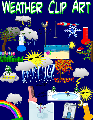 free!! comes with 31 clip art weather and seasonal related