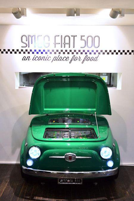 Smeg 500 Quand La Fiat 500 Rencontre Smeg At Home Pinterest