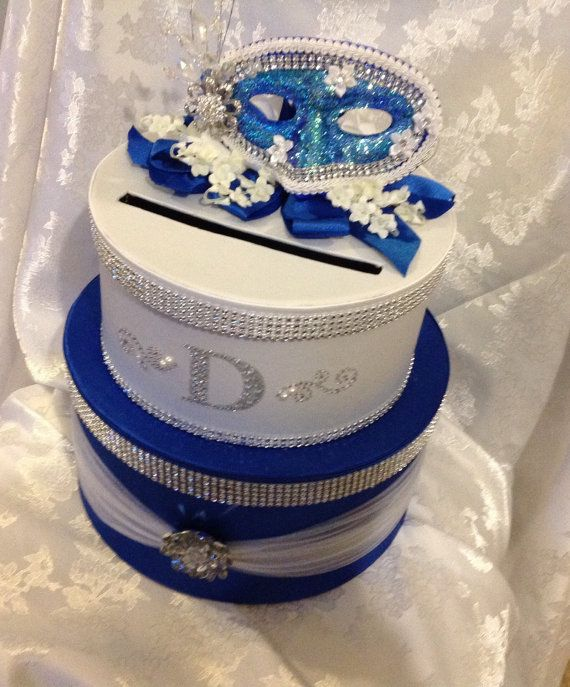 Card Boxes, Masquerade Card Box, Sweet Sixteen Card Box