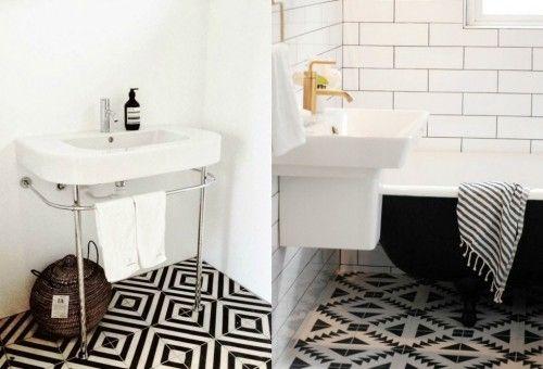 Badkamer Tegels Zwart : Badkamer tegels zwart wit eenvoudig badkamertegels zwart wit