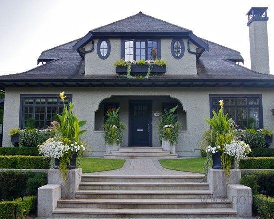 House Image Result For Grey Black Trim
