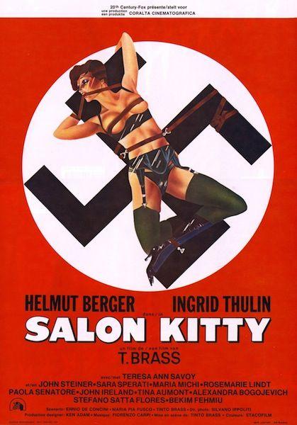 Salon Kitty Belgium Poster Perversion Tinto Brass Sky Cinema Kitty