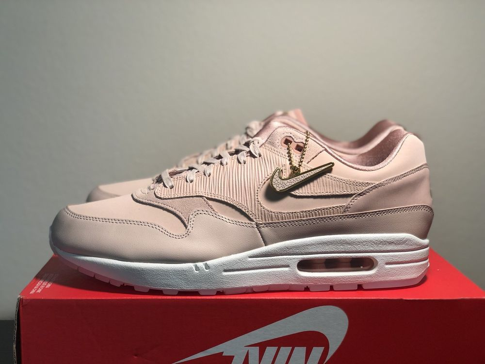 NIKE Women s Air Max 1 PRM (Size Wmn s US 12 - Mens s 10.5) 454746-206  Deadstock  fashion  clothing  shoes  accessories  womensshoes   athleticshoes (ebay ... 3549d817d5