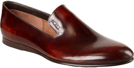 3c14e251a Prada Wholecut Venetian in Brown for Men (tan) - Lyst | Menswear ...