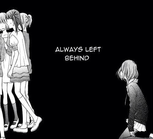 Quotes About Being Alone Sad Girl: Sad, Alone, And Manga Image
