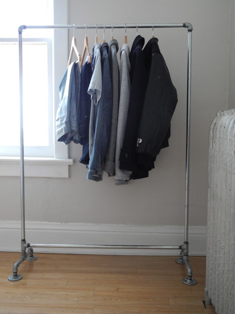 Design Diy Clothes Rack diy projects crafts pipe rack plumbing and galvanized clothes rack
