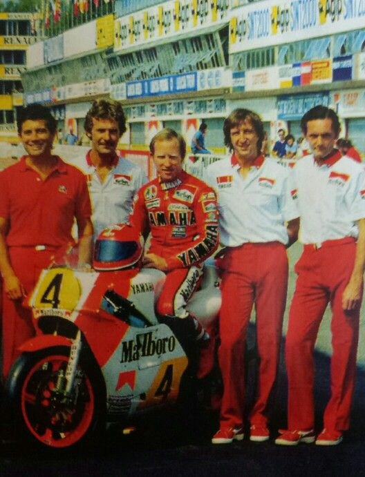 King Kenny Roberts yamaha OW01 500 83 team Agostini