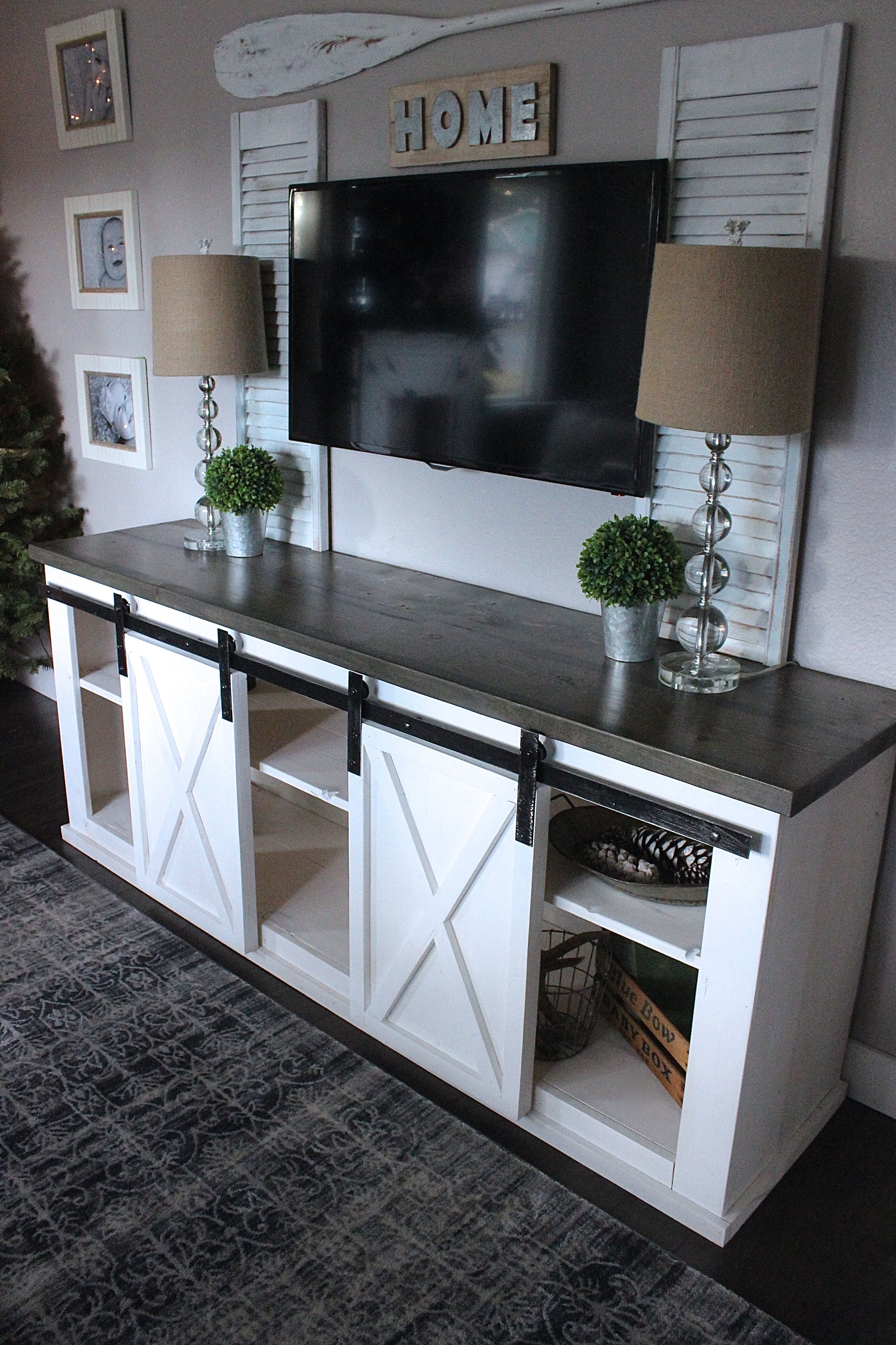 50 creative diy tv stand ideas for your room interior living dining room pinterest. Black Bedroom Furniture Sets. Home Design Ideas