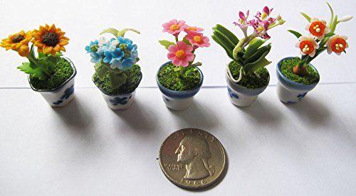 Set 5 Lovely Mixs Plant Flower Dollhouse Miniature ,Home ... http://www.amazon.com/dp/B00P47GZPI/ref=cm_sw_r_pi_dp_jbxlxb0BC7B5H