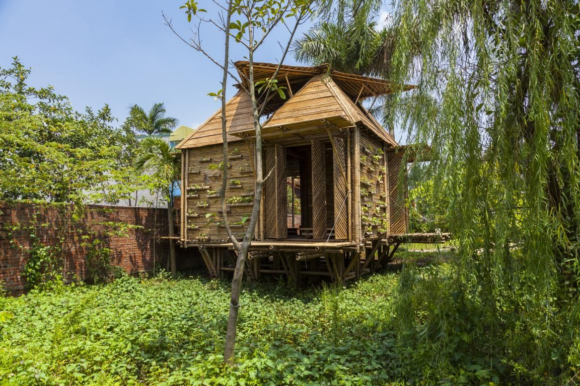 amusing bamboo house design and floor plan with virginia style also ...