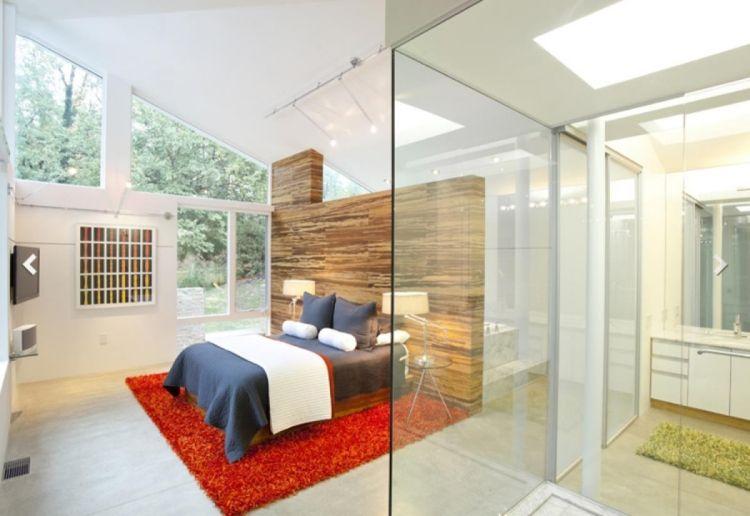 Raumteiler für Schlafzimmer \u2013 31 Ideen zur Abgrenzung Pinterest