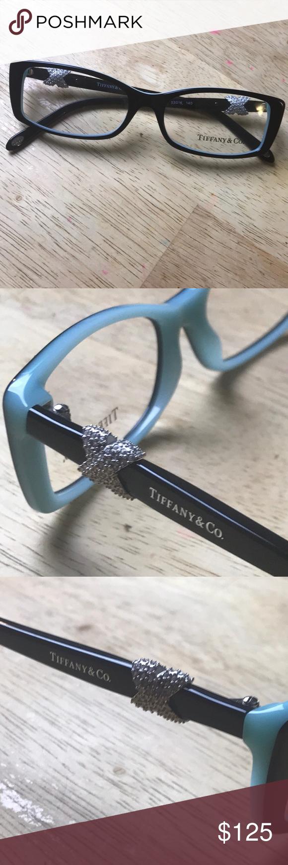 3ae41436fe98 Tiffany Eyeglasses RX demo lenses Authentic Tiffany eyeglasses model Tf  2110-B Tiffany   Co