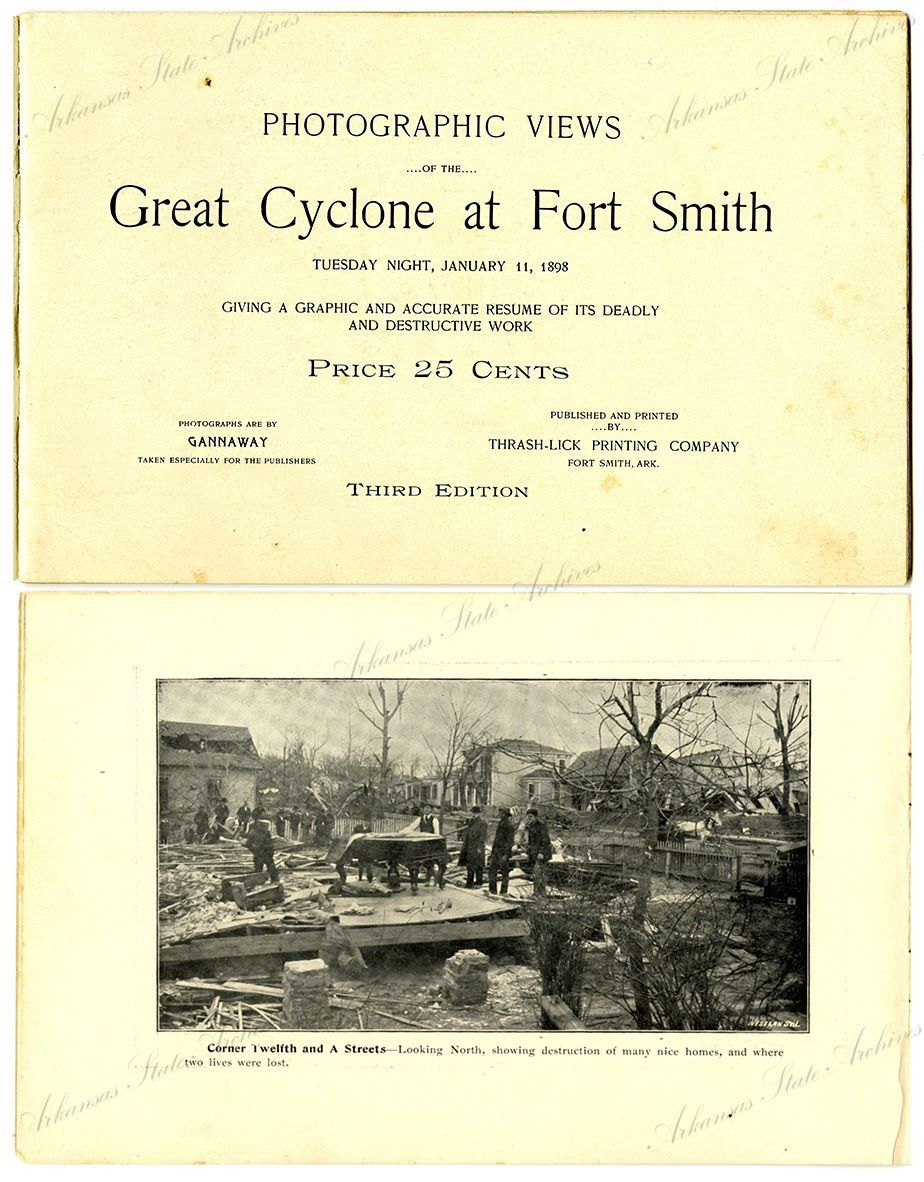 On this date in 1898, Fort Smith was hit by one of the deadliest tornados  to ever hit the state. 55 people were killed and 113 injured when the  tornado ...