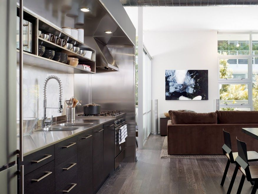 urban loft design | Bathroom Designs, Masculine Loft Decor Ideas ...