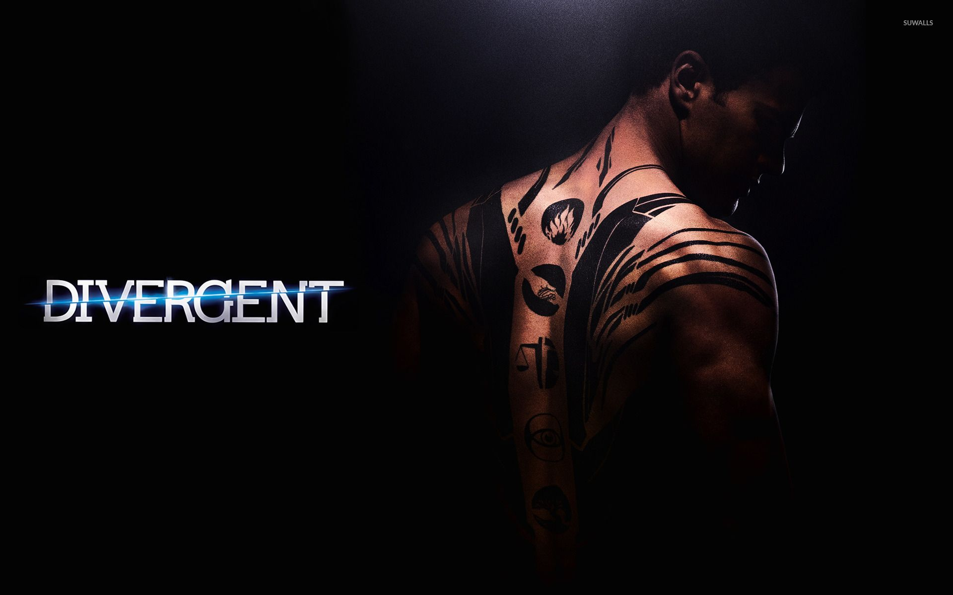 Four divergent wallpaper movie wallpapers 29664
