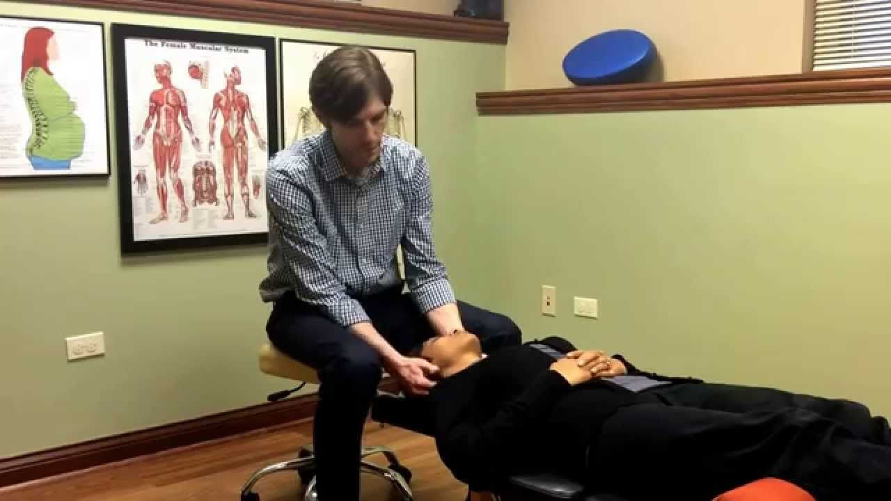 Chiropractic adjustment for neck pain in St. Charles, IL. Did you know that a study published in the Annals of Internal Medicine showed that chiropractic care provided more relief for neck pain than home exercise advice and medication? For more information visit http://www.whiteoakwell.com/neck-pain-relief.html