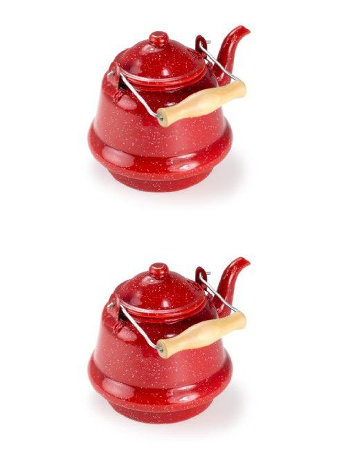 GSI Outdoors Small Tea Kettle (Red) | Kettle and Products