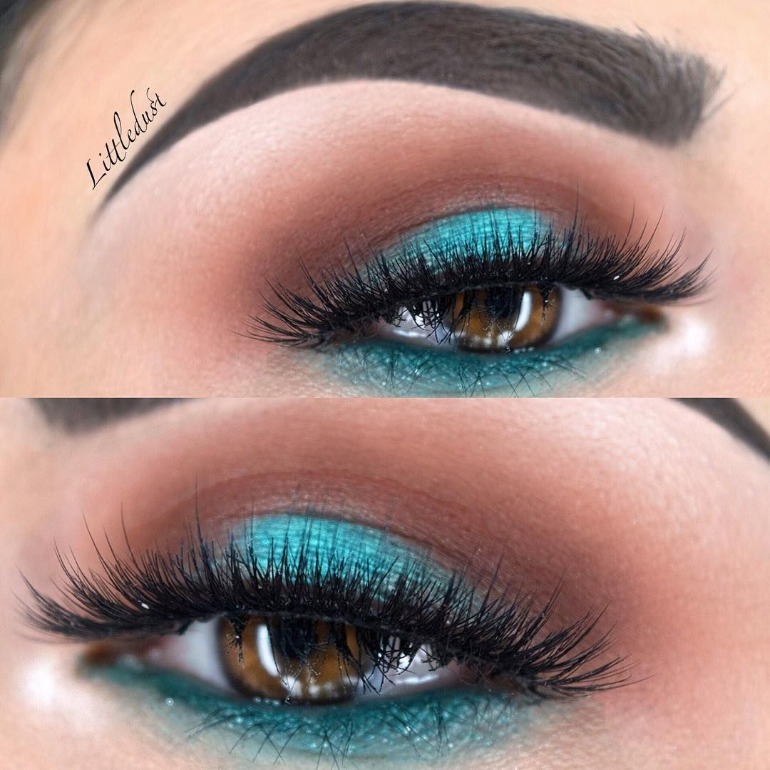 Colorful look created with @makeupaddictioncosmetics  #makeupaddictioncosmetics Flaming Love  palette  Lashes @vegas_nay @eylureofficial #eylureofficial #vegas_nay  #vegasnaylashes in Grand Glamour For the waterline I used the @urbandecaycosmetics #urbandecaycosmetics  24/7 glide-on eye pencil in electric. Brushes from @sigmabeauty #sigmabeauty  Brows @anastasiabeverlyhills #anastasiabeverlyhills brow wiz in Ebony  #makeupartistsworldwide _  #inssta_makeup  #makeupfanatic1  #makeupslaves…