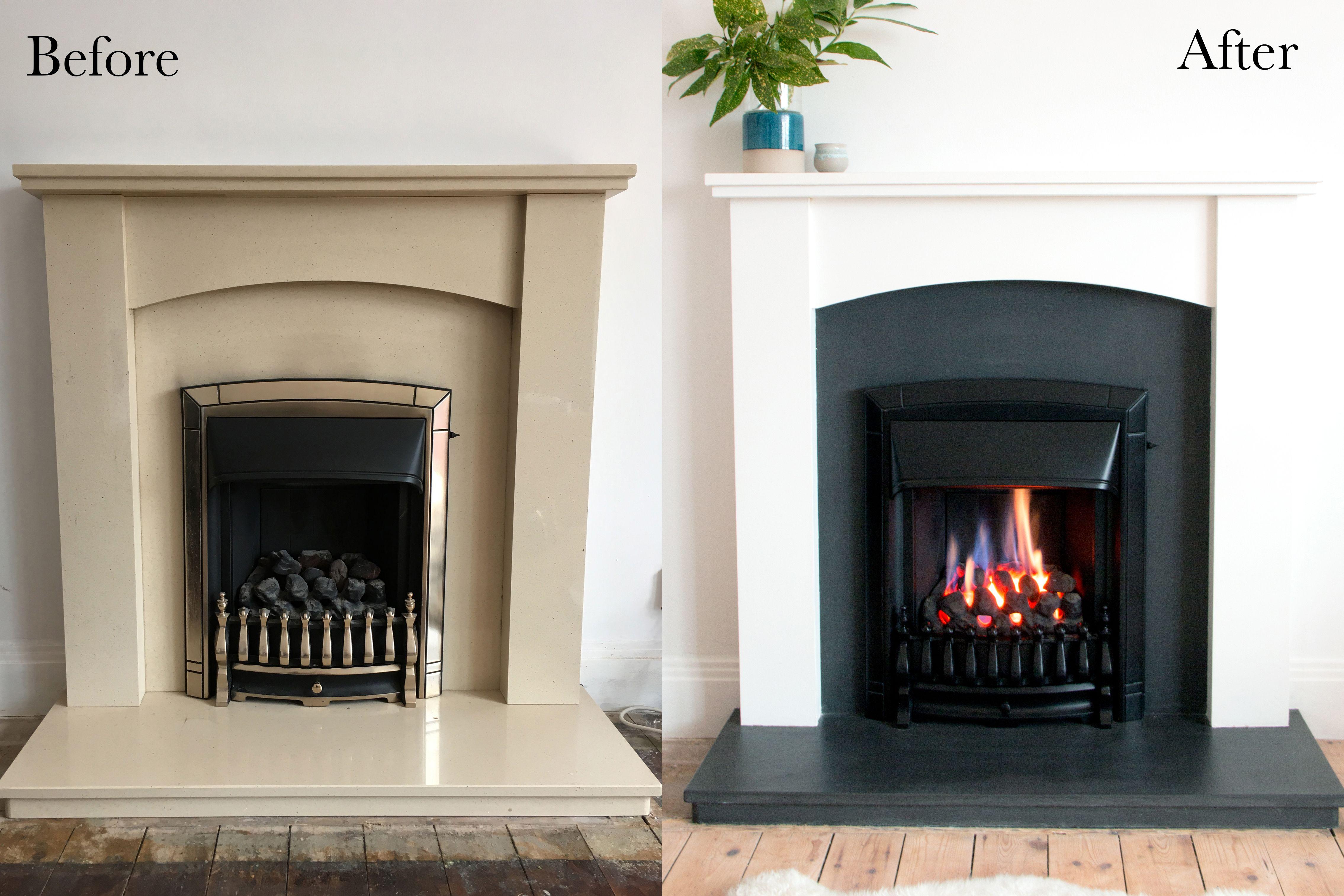 Houseofdibs Co Uk Fireplace Upgrade Diy Under 50 Fireplace