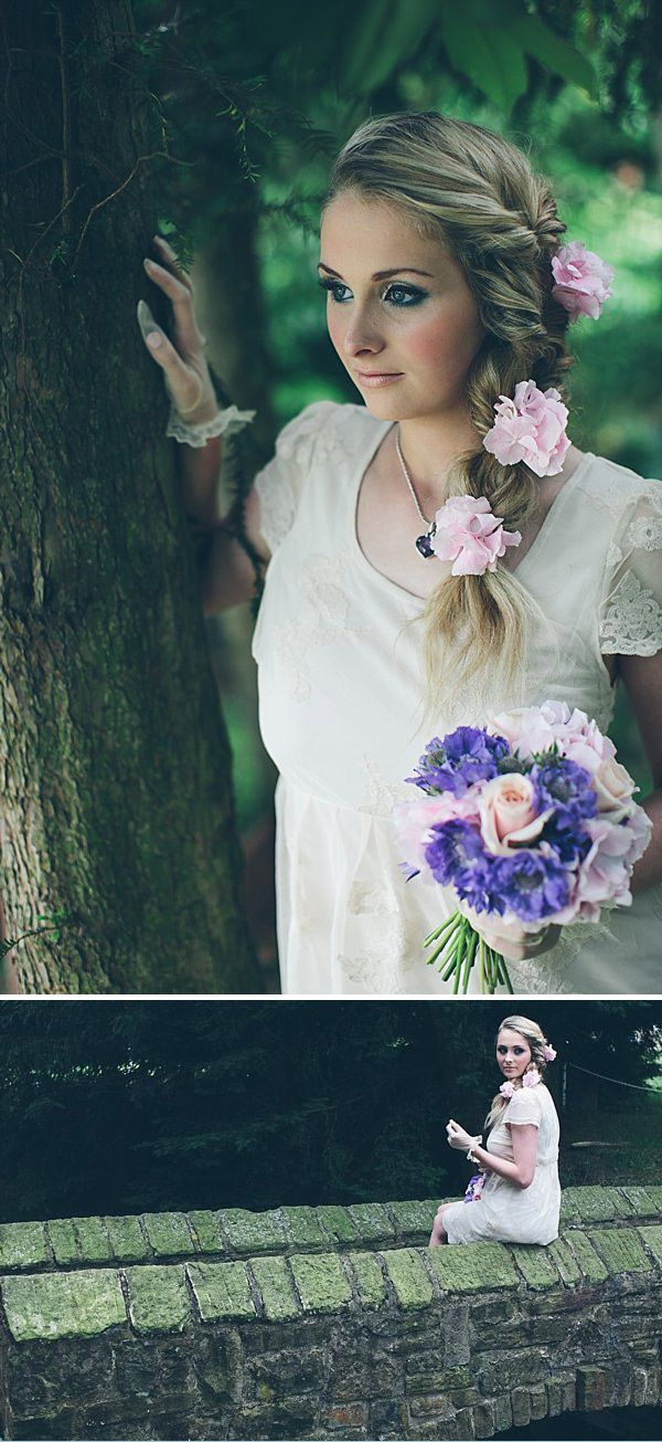 Fresh Flower Crown And Hair Ideas For Your Wedding Day And Bridal