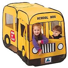 Twist u0027N Fold Big Yellow Bus Pop-Up Play Tent - Playhut -.  sc 1 st  Pinterest : fold up play tent - memphite.com