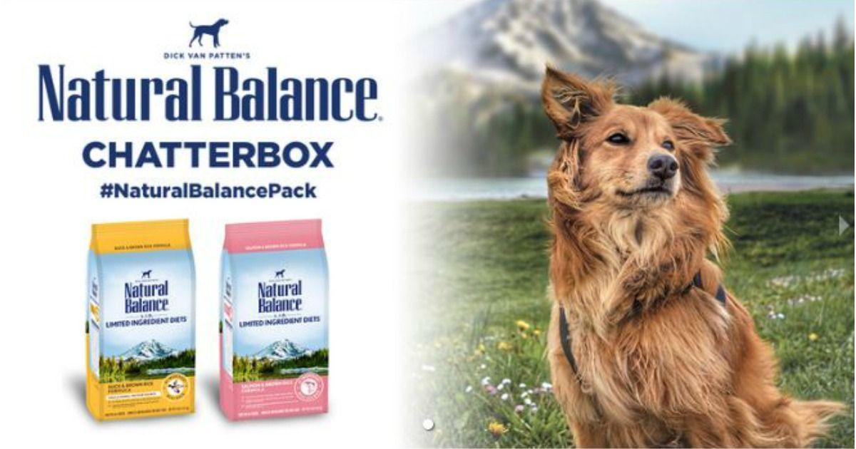 Free bag of natural balance lid limited ingredient