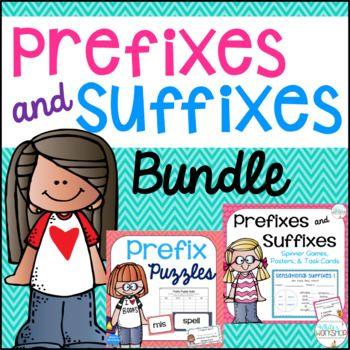 Prefixes and Suffixes - English Grammar, Fun & Educational Game ...