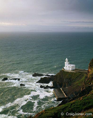 Hartland Point Lighthouse In England