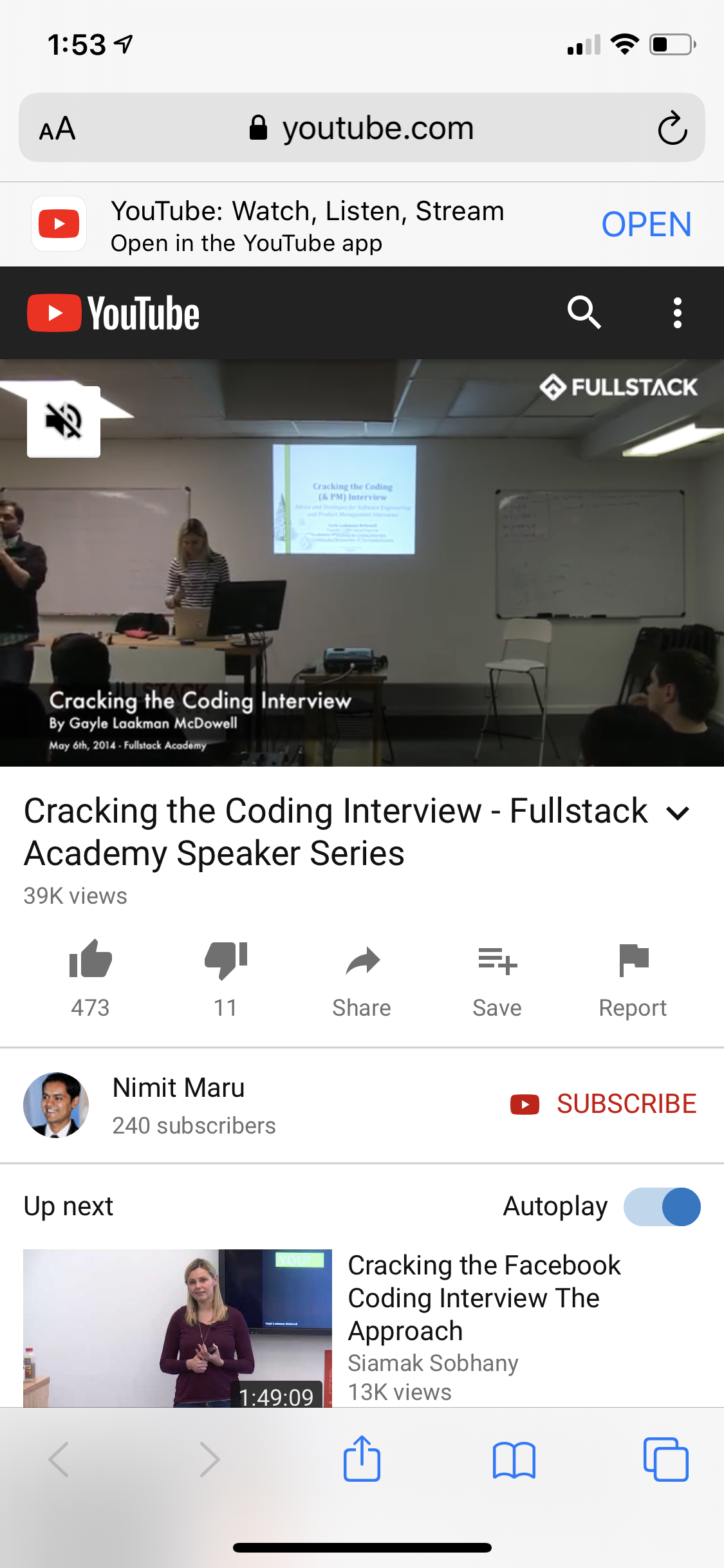 Cracking The Coding Interview In 2020 Interview Coding Academy