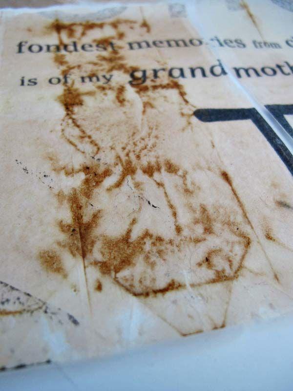 Jennifer Coyne Qudeen: 2013 Sketchbook Project - tea bags