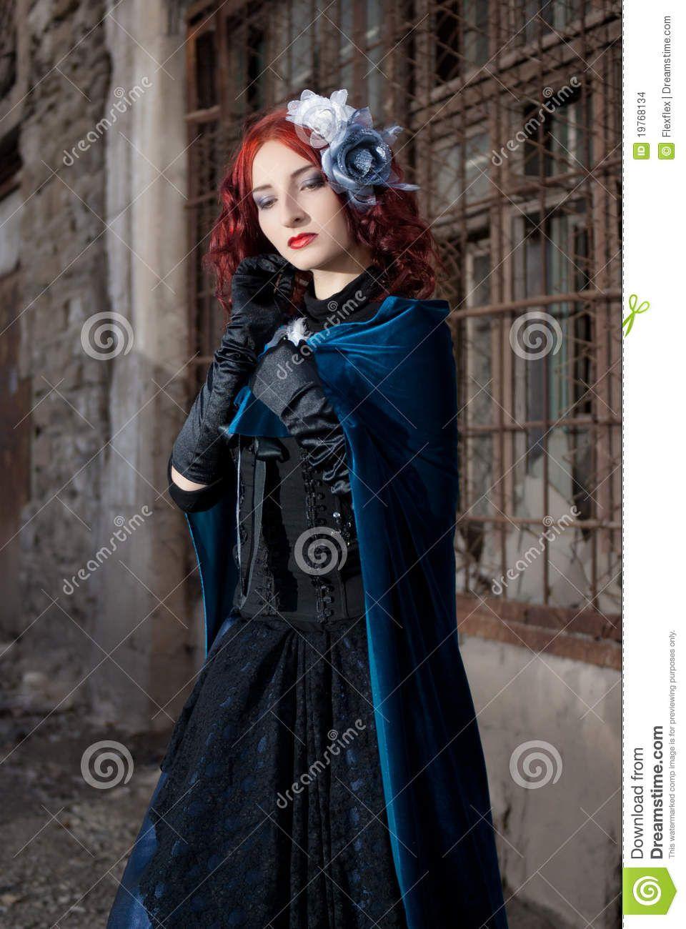Redhead fetish goth #5