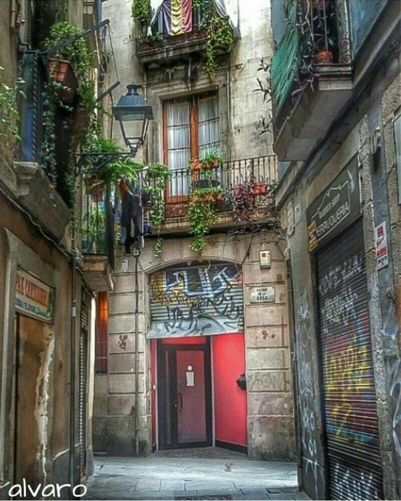 Racons del Gotic. Barcelona Spain