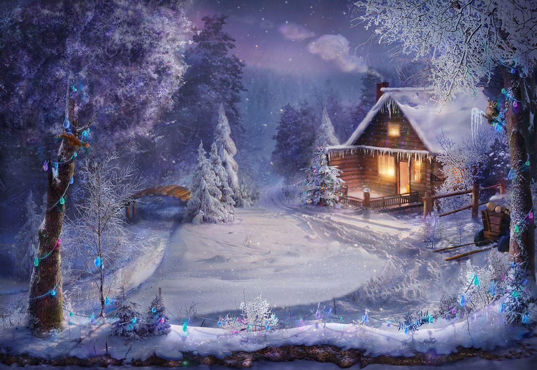 примерная, красивые картинки с новогодними пейзажами люди