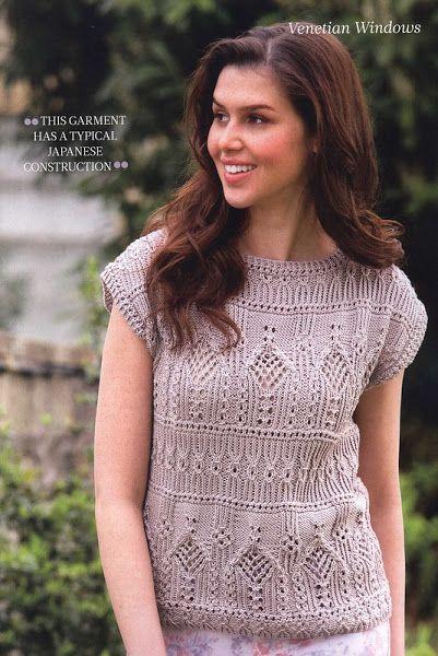 осинка журналы по вязанию Sweater Knitting Patterns Lace