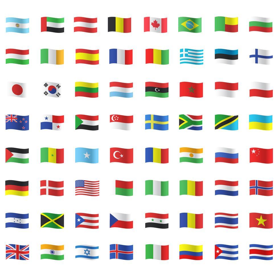 All Country Flags In 2020 All Country Flags Country Flags Icons Globe Logo