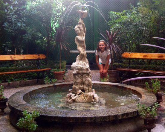 """""""El Jardín del Magnolio"""" en el Museo del Romanticismo."""