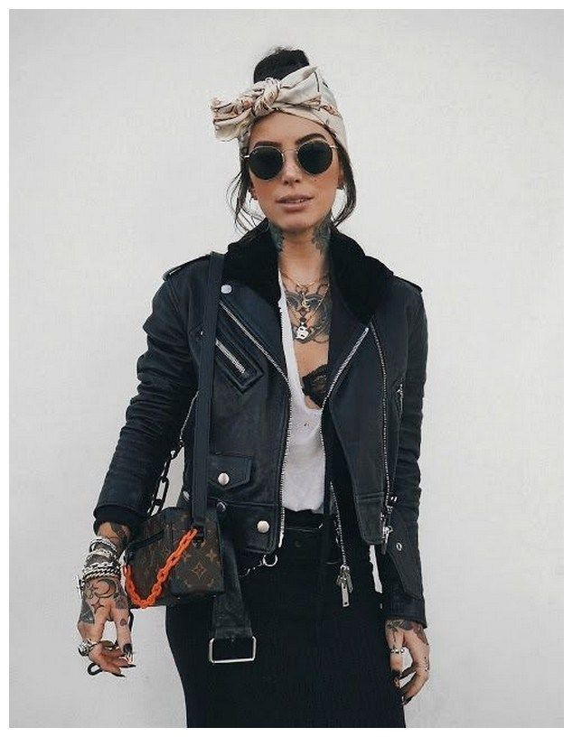 34+ Rocker Chic Winter Outfits You Will Love - Wass Sell