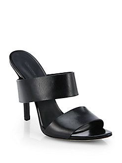 Alexander Wang - Masha Refined Leather Sandals