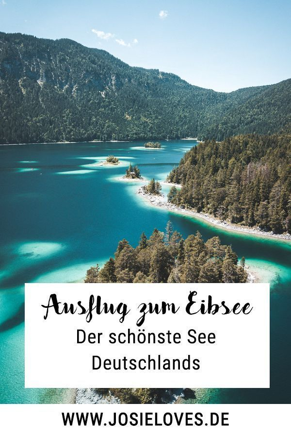 Photo of A trip to the Eibsee – Josie Loves