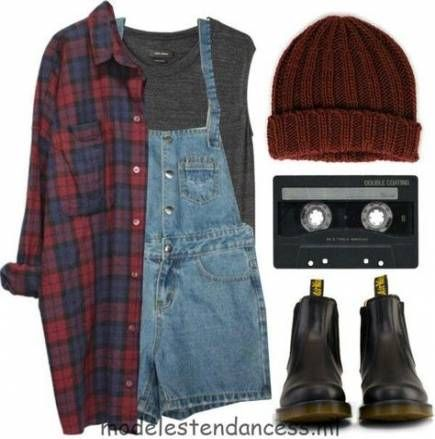 Fashion 90s grunge dungarees 58 ideas for 2019 #90sgrunge