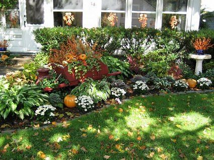 fall landscape houston - google