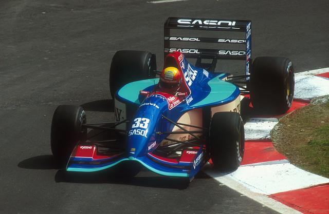 1992 Jordan 192 - Yamaha (Mauricio Gugelmin)