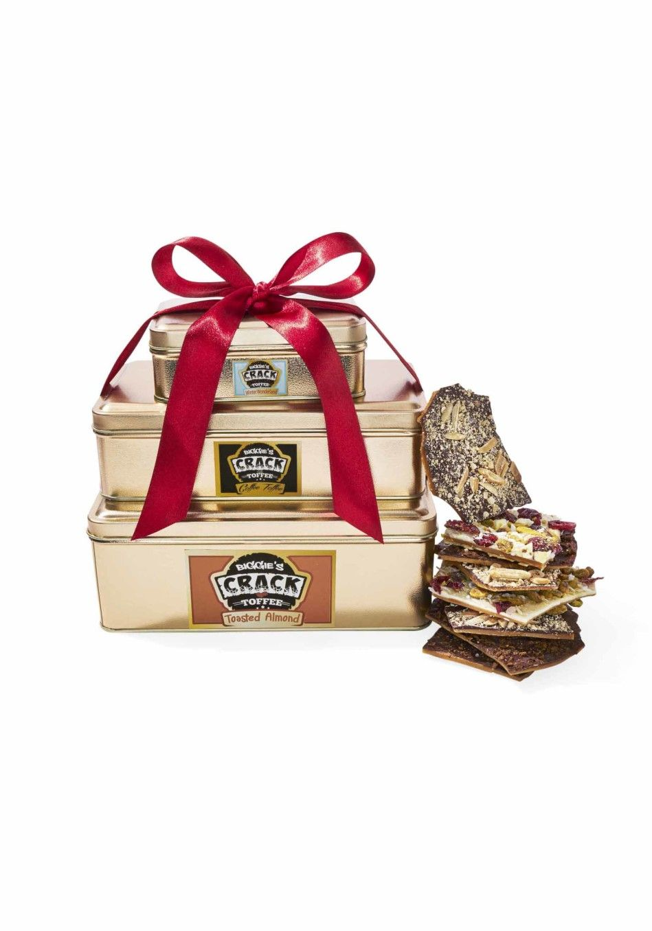 """Oprah's Favorite Things 2016    """"They don't call it """"crack toffee"""" for nothing. Crunchy and buttery, with toppings like white chocolate with pistachio, ..."""